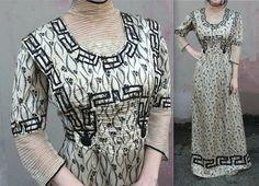 Seltene antike Edwardian Kleid / / 1910er von TrueValueVintage