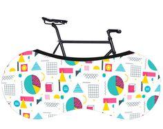 Fahrrad-Stoffbezug, gedruckt faltbare Abdeckung, Wheelpants, Radverkleidungen, Fahrrad Abdeckung, Tragetasche, faltbare Fahrradtasche Fahrrad Bike