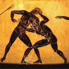 Ancient-wrestling