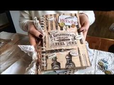 Original pinner sez: My vintage inspirational quote Junk Journal from my swap- partner Robin - YouTube