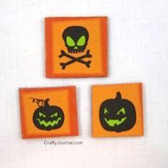 DIY Adhesive Magnets isharecrafts.com