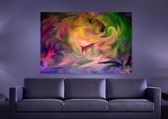 Harmony arising from chaos. Recommended for a large installation. contemporary art for sale To make a purchase or check pricing click on the image. Once you are on the product page you can select p...