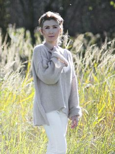 Cozy but very light and comfy Beige Dream Oversize Sweater