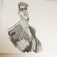 warmup @thesartorialist sketch #characterdesign #fashion