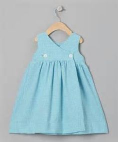 Simple cross front summer dress