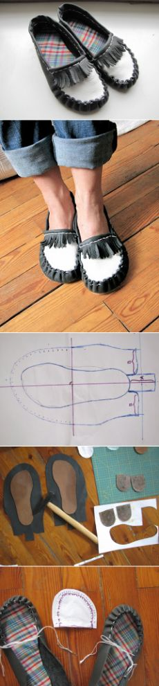 Dreams and joints: design of moccasins! A complete how-to ...