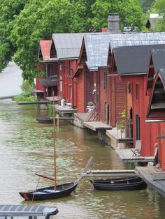 FINLAND Porvoo Places To Travel, Places To Go, Helsinki, Wonderful Places, Countries, Tourism, Around The Worlds, Texas, Boat