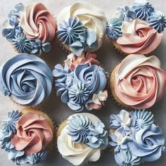 Fancy Cupcakes, Floral Cupcakes, Pretty Cupcakes, Mocha Cupcakes, Banana Cupcakes, Gourmet Cupcakes, Strawberry Cupcakes, Velvet Cupcakes, Easter Cupcakes