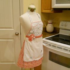Re-purposed Apron $45.  Gorgeous!
