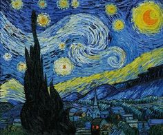 "Van Gogh, ""Starry Night"""