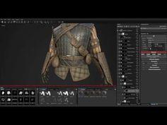 GameTextures.com Armor Substances Tutorial 1 - YouTube