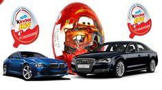 10 Kinder Surprise Surprise Eggs Cars Disney Pixar Cars 2 Киндер Сюрприз...