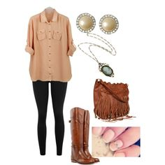 Blouse Outfit(: