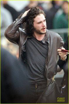 Celeb Diary: Kit Harington arriving for an appearance in Hollywood