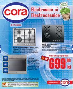 Oferta curenta: CORA -Electronice. Electrocasnice|Oferta Cora 03.03-17.03.2015. Cu POC!Oferte reducem pe cat posibil utilizarea formatului clasic 'pe hartie'!