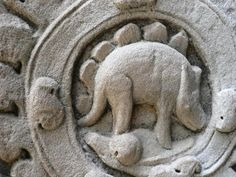 Noticia!! Dinosaurios vivieron con humanos! evidencia en antiguo templo