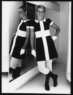 Courrèges 1968 by dovima_is_devine_II, via Flickr