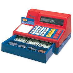 Pretend and Play Calculator Cash Register - Dr. Toy's Best Classic Toy - $79.99 (NP)