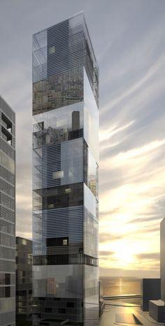 Mirror Tower / LAN Architecture