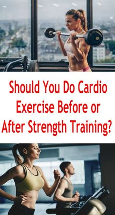 A question that I am often asked and one that I have seen countless times on message boards across the Internet is whether a person should do cardiovascular exercise before or after a resistance training workout? Endurance Training, Weight Training, Strength Training, Endurance Workout, Workouts For Teens, Easy Workouts, Weight Loss Images, Fitness Goals, Body Fitness