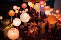 The very inspiring blogger award 2 photography and night photography chinese lanterns with ribbons hanging down on patio reception elizabeth anne designs junglespirit Choice Image