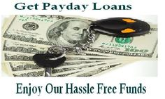 Get payday loans are special type of funds designed for the permanent citizens of the United State who have jacked with financial emergency and are not able to fulfill their daily expenses which need instant handling. With us you can enjoy our monetary assistance that helps you to settle down your mid month financial requirement without wasting your valuable time in hectic credit checking procedure, lengthy faxing documents and any type of paperwork.