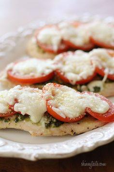 Skinny Chicken Pesto Bake | Skinnytaste