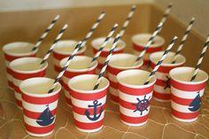 Nautical  Birthday Party Ideas   Photo 1 of 16