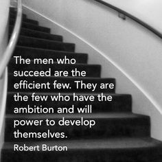ambition & will power
