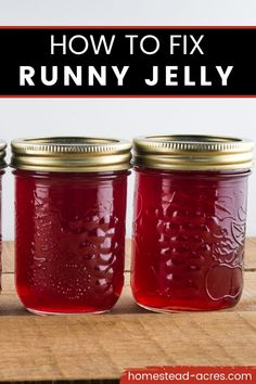 Home Canning Recipes, Canning Tips, Cooking Recipes, Chutneys, Sauces, How To Make Jelly, Homemade Jelly, Homemade Jam Recipes, Canning Granny