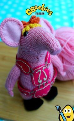 Free, official Clanger knitting pattern from CBeebies. The Clangers follows the adventures of tiny knitted creatures from space - and now you can make your own Tiny Clanger with this special knitting pattern! The Clangers is narrated by Monty Python legend Michael Palin in this nostalgic return to kids' TV