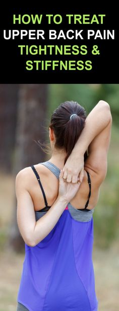 How To Treat Upper Back Pain, Tightness & Stiffness with Proven Ancient Herbal Remedies Upper Back Muscles, Upper Back Pain, Back Pain Symptoms, Back Strain, Back Pain Remedies, Muscle Strain, Sports Medicine, Herbal Remedies, Herbalism
