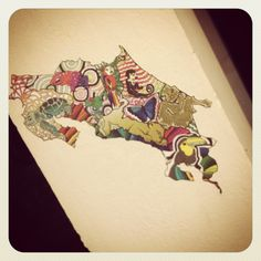 Costa Rica Animals. This tattoo is so beautiful I had to post it on more than one of our boards!