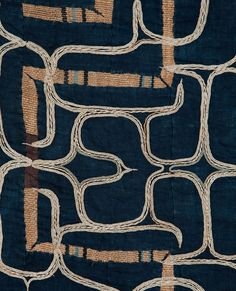 Attush, Ainu Robe Hokkaido, Japan Elm bark fiber, Cotton 19th Century 47 x 46 in/119 x 117 cm