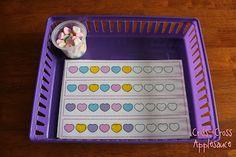 Criss-Cross Applesauce: Preschool Valentine Trays