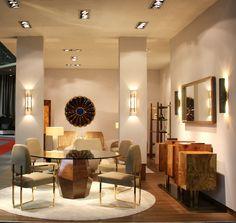 INSIDHERLAND dining room space at Maison&Objet hall 7 #maisonetobjet…