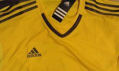 78e649f3b2b 35$ NWT Men's Adidas Performance Football Soccer Adizero Short Sleeve T- shirt S17932 #