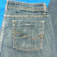 Comfy straight stretch eased fit blue jeans These jeans are super comfortable they are stretch straight eased fit in a size 12 average by faded glory. faded glory Jeans Straight Leg