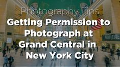 Photography Tips: Getting Permission to Photograph at Grand Central in NYC   Wouldnt it be nice to know you could photograph in New Yorks Grand Central without any hassle? You can! Watch this video to see how.  Heres a useful link to their website and the Contact Form: www.grandcentralterminal.com  About MACH Photography:  MACH Photography is a full service photography company. MACH's photos have been trusted by many familiar names including The Guardian The Telegraph and Conde Naste. Visit…