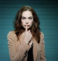 Ruth Wilson as the villainous Alice Morgan on BBC's Luther...