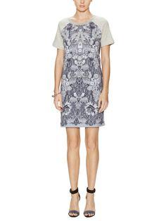 Lena Printed Front Dress