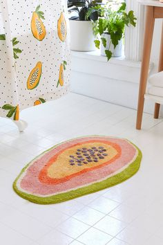 Shop Papaya Bath Mat at Urban Outfitters today. We carry all the latest styles, colors and brands for you to choose from right here. Bathroom Rugs, Bath Rugs, Bathroom Ideas, Bathroom Bin, Bathroom Inspo, Houzz Bathroom, Restroom Ideas, Restroom Design, Mosaic Bathroom