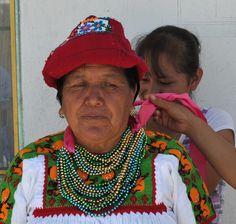 Otomi Woman Mexico by Teyacapan, via Flickr