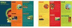 Kerala tourism brochure by Chaaya Prabhat, via Behance