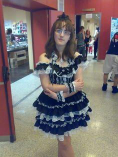 Gothic Lolita cosplay by HikuLockhart on DeviantArt Lolita Cosplay, Gothic Lolita, Costumes, Dresses, Fashion, Gowns, Moda, Dress Up Clothes, La Mode