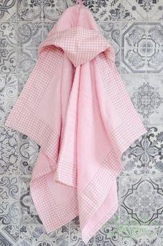 Hooded Kids/baby Girl Towel Handmade Stylish and Playful