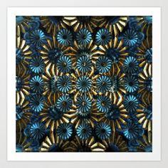 CenterViewSeries295 Art Print by fracts - fractal art - $16.00