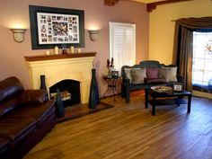HGTV Shows You How A Living Room Got Vibrant Spanish Style