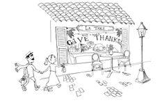 Thanksgiving Postcard Concept