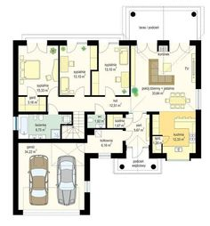 Parter Dream House Plans, British Columbia, Sweet Home, Villa, Floor Plans, Home And Garden, Layout, Construction, House Design